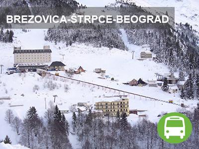Brezovica-Štrpce-Beograd